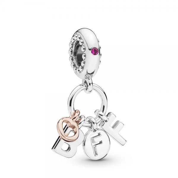 Pandora ékszer Legjobb barátok örökké függő charm - 788165NCC