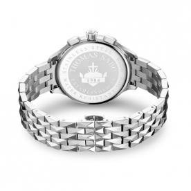 Thomas Sabo Rebel at heart chronograph ezüst női óra WA0345-201-201-38