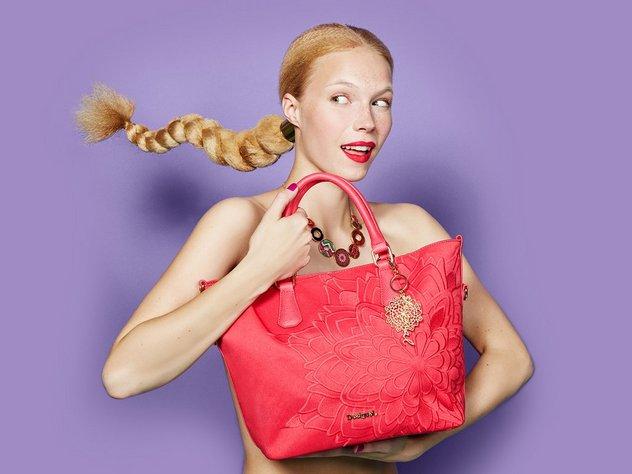 Emma shopper Desigual táska Emma shopper Desigual táska 91b322ea77