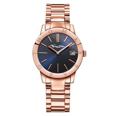 Thomas Sabo Rózsaarany színű női óra kék számlappal - WA0215-265-209 a23a2b4aaa