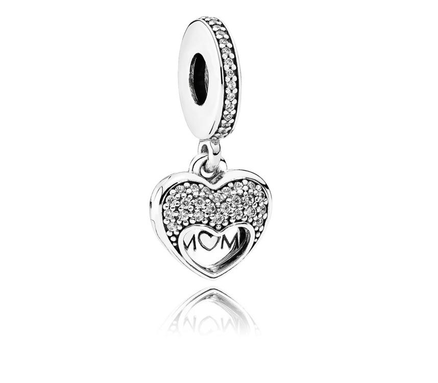 cab8721ec337 Pandora ékszer Szeretem az édesanyám ezüst charm - 792071CZ