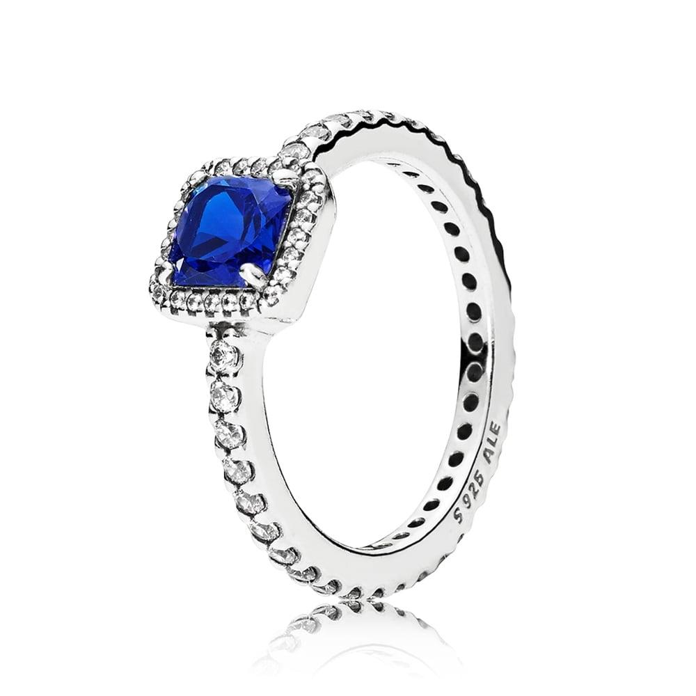 3c2fc03edd Pandora ékszer Kék időtlen elegancia gyűrű -
