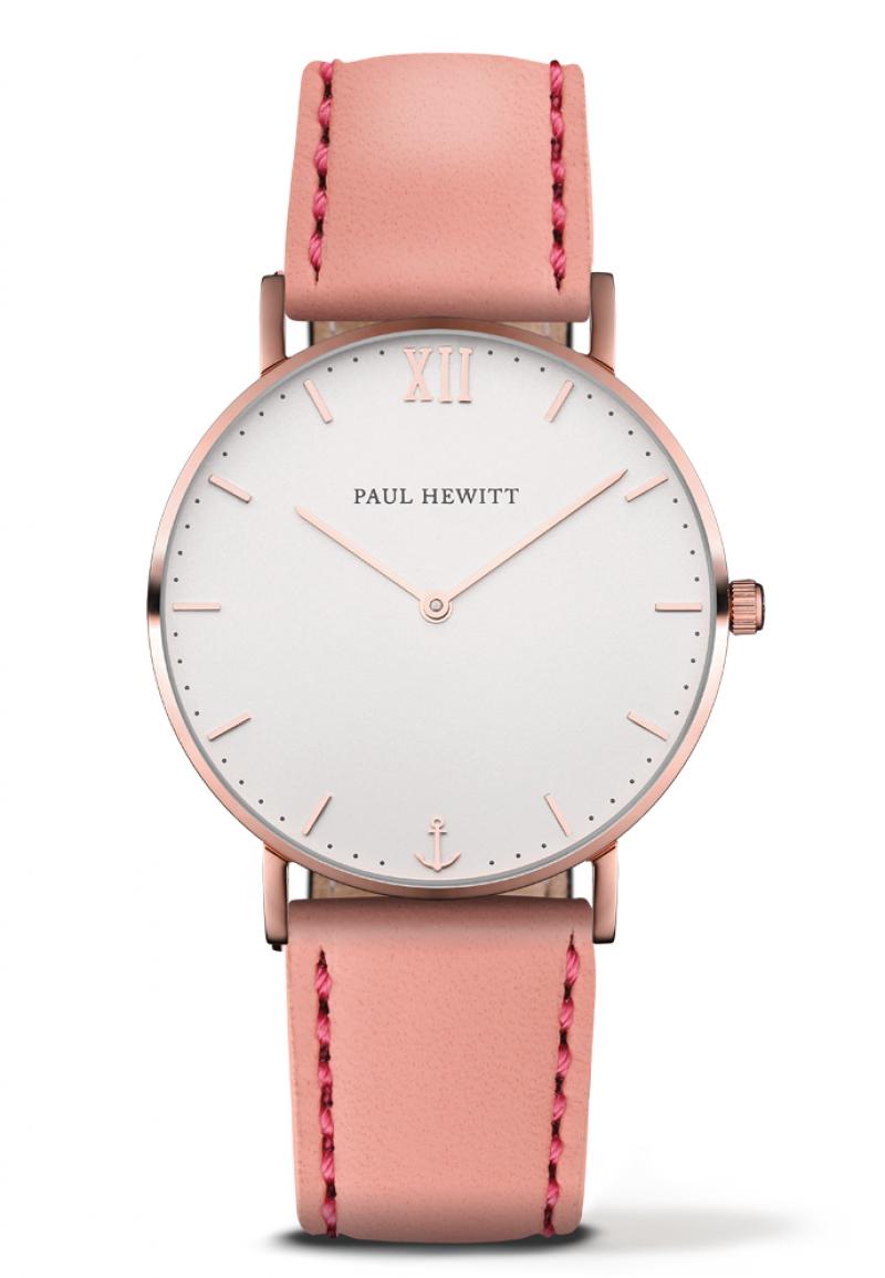Paul Hewitt Sailor rozé fehér női óra rózsaszín bőr óraszíjjal - PH ... 33b27b424c