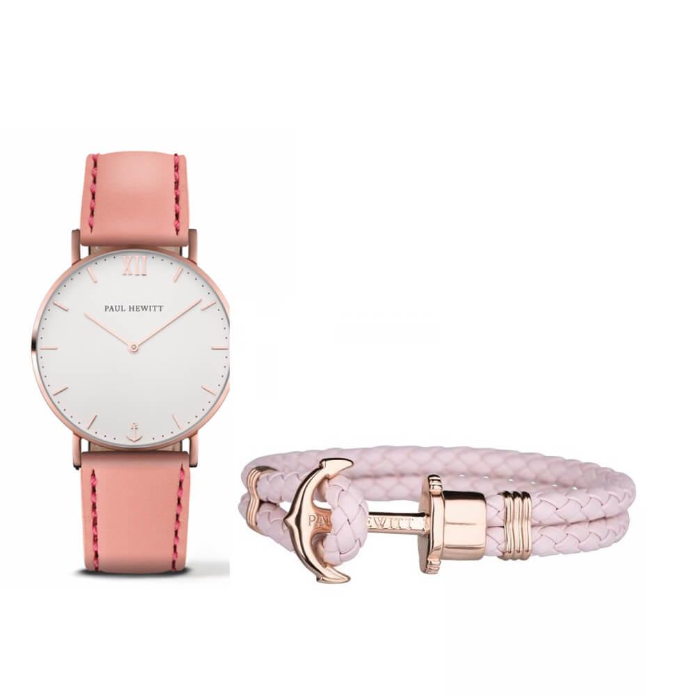 Paul Hewitt sailor rózé fehér női óra rózsaszín karkötő szett - POK004 5b81170cdc