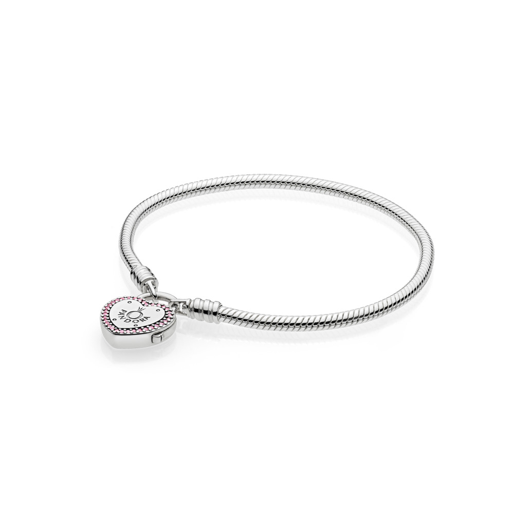 4be3acc4ed Pandora ékszer Szerelem lakat Moments ezüst karkötő -