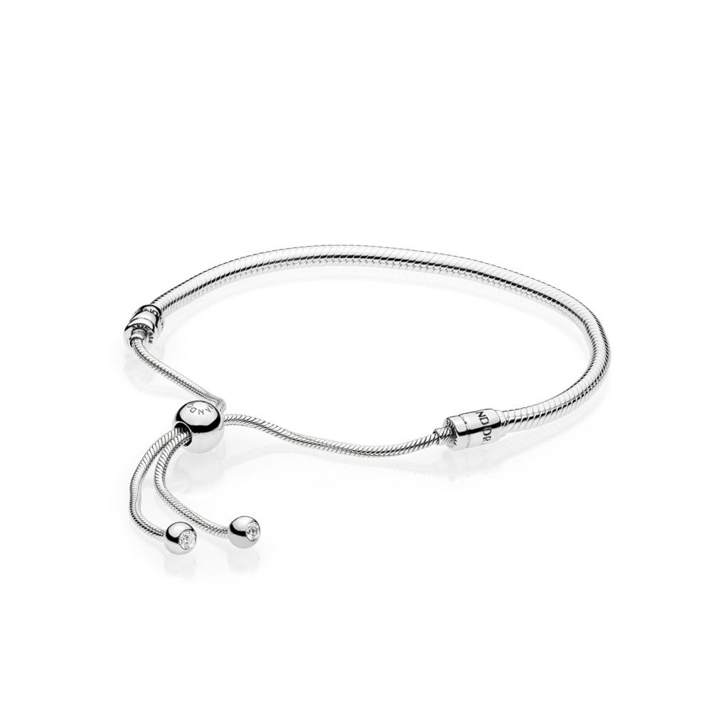 6384eae849 Pandora ékszer Moments állítható ezüst karkötő -