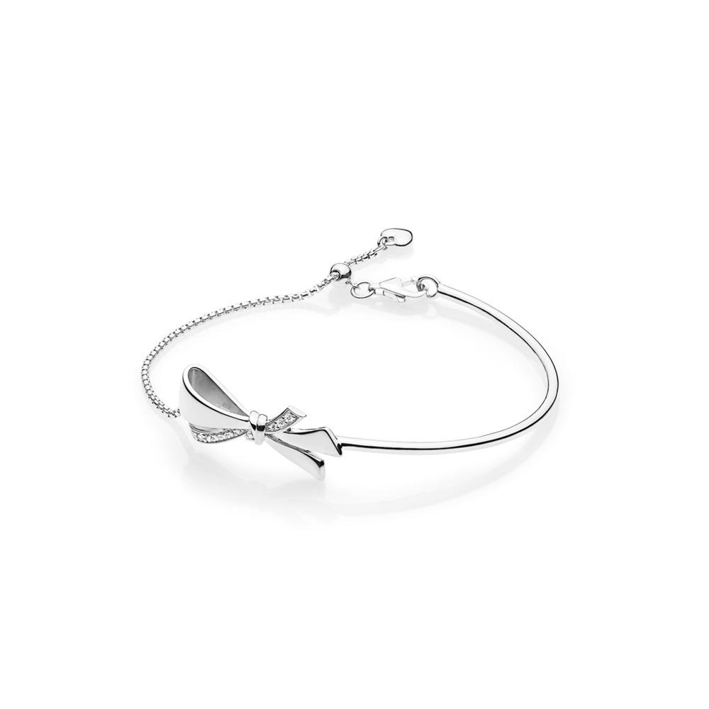 423451b91f Pandora ékszer Ragyogó masni ezüst karkötő -