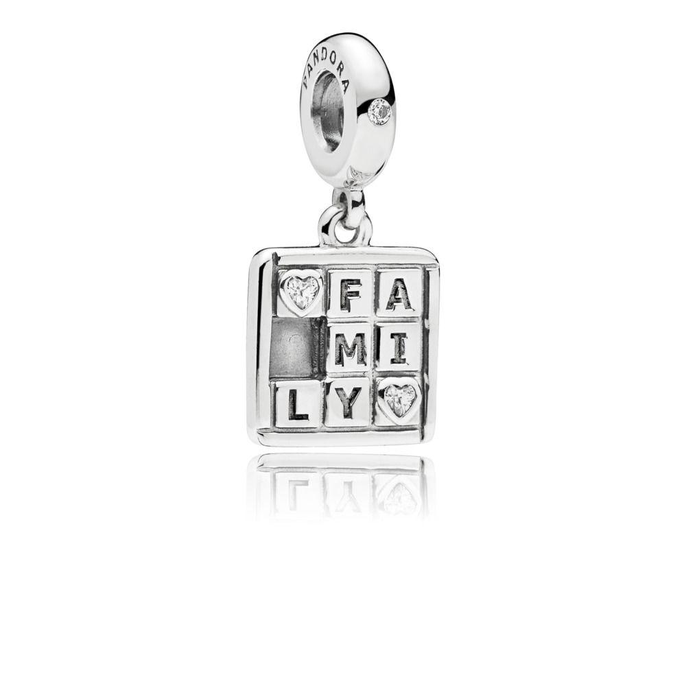 ea4a06e92fa0 Pandora ékszer Társasjáték ezüst charm - 797626CZ
