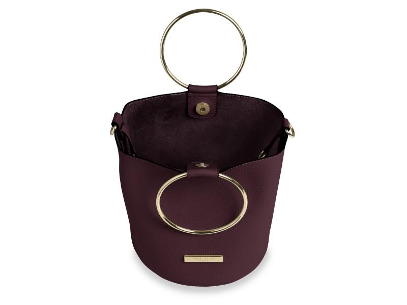 9a165bd3ba27 ... Katie Loxton Suki bucket bordó táska KLB402