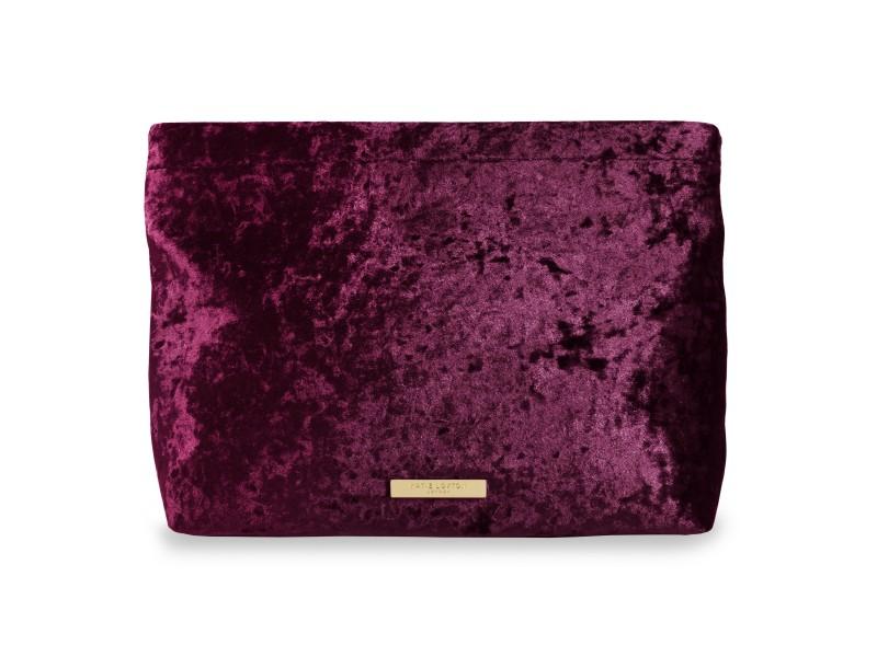 Katie Loxton Valentina velvet lila táska - KLB379 4e34942a8e