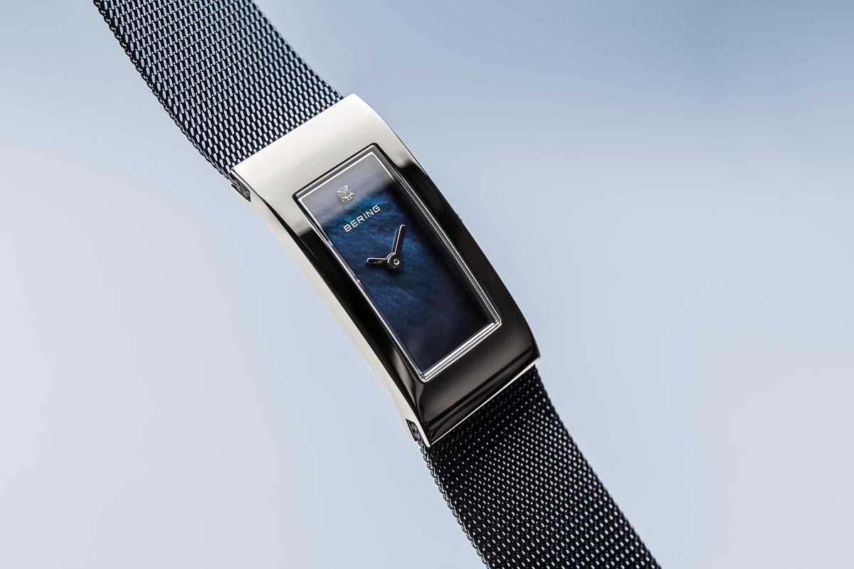 ... Bering Classic kék óra ezüst színű tokkal 10817-307 ... 1f50c55a04