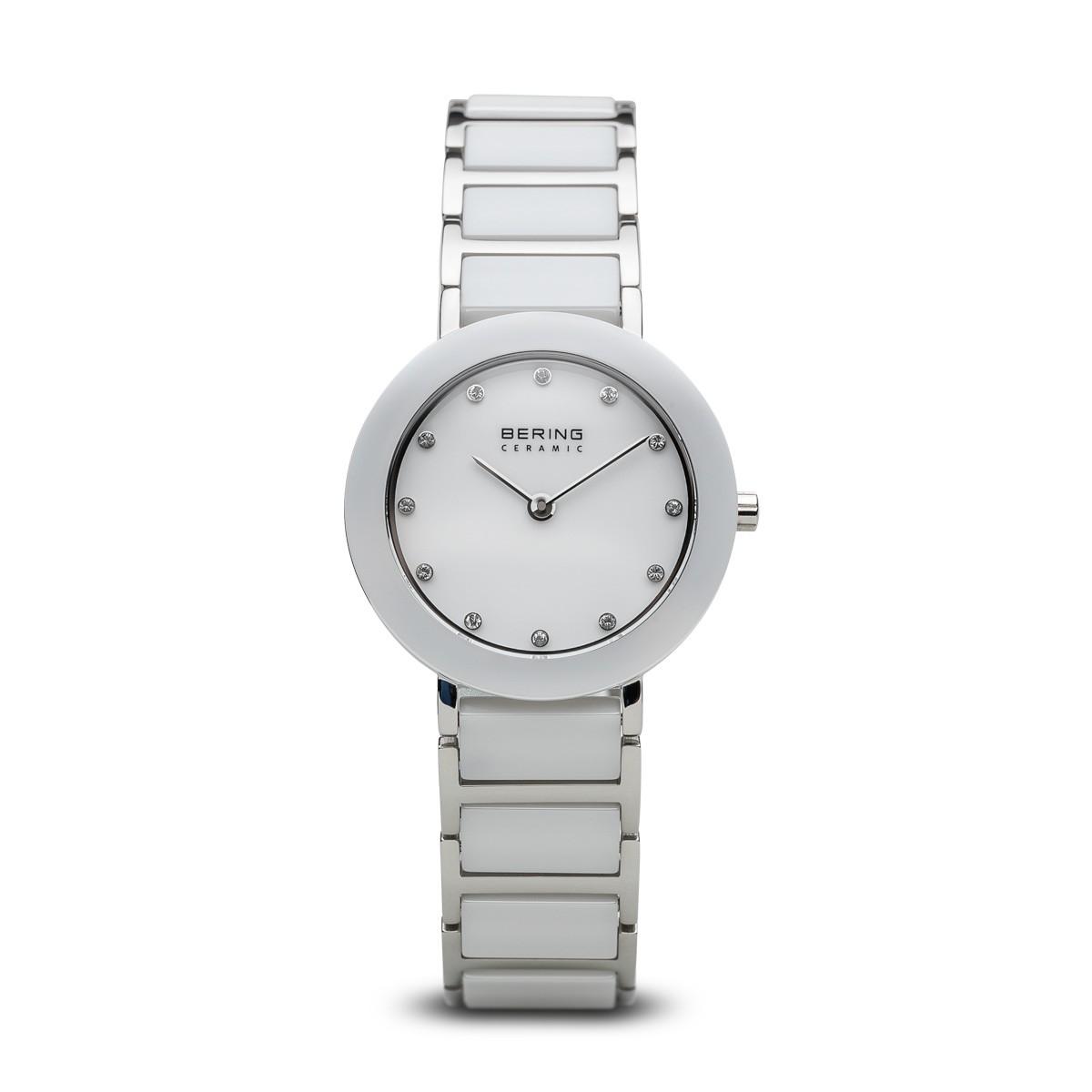 Bering Kerámia fehér acél női óra fehér tokkal - 11429-754 34a1bb13a9