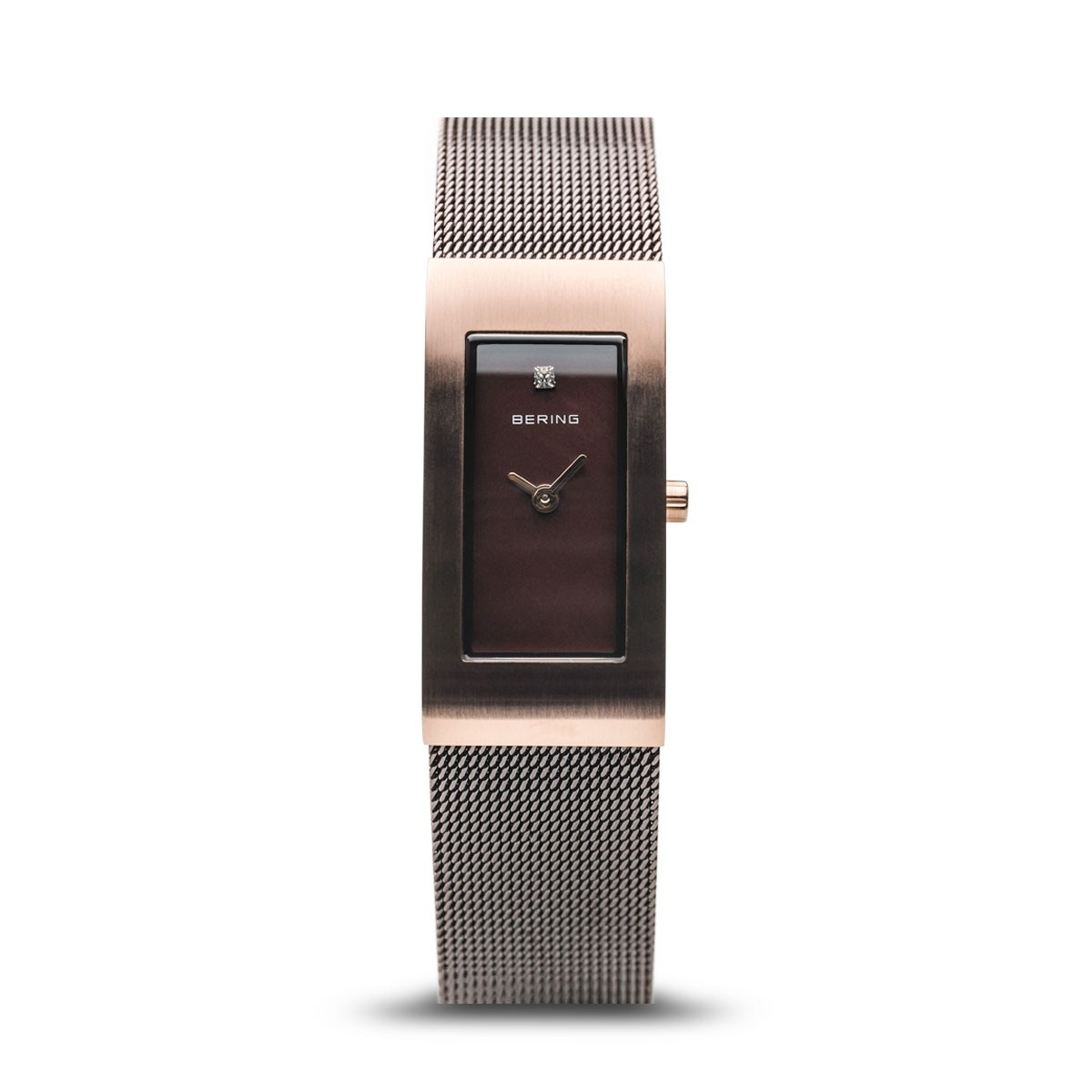 Bering Classic barna női óra rozé tokkal - 10817-262 9a2b0fcc84