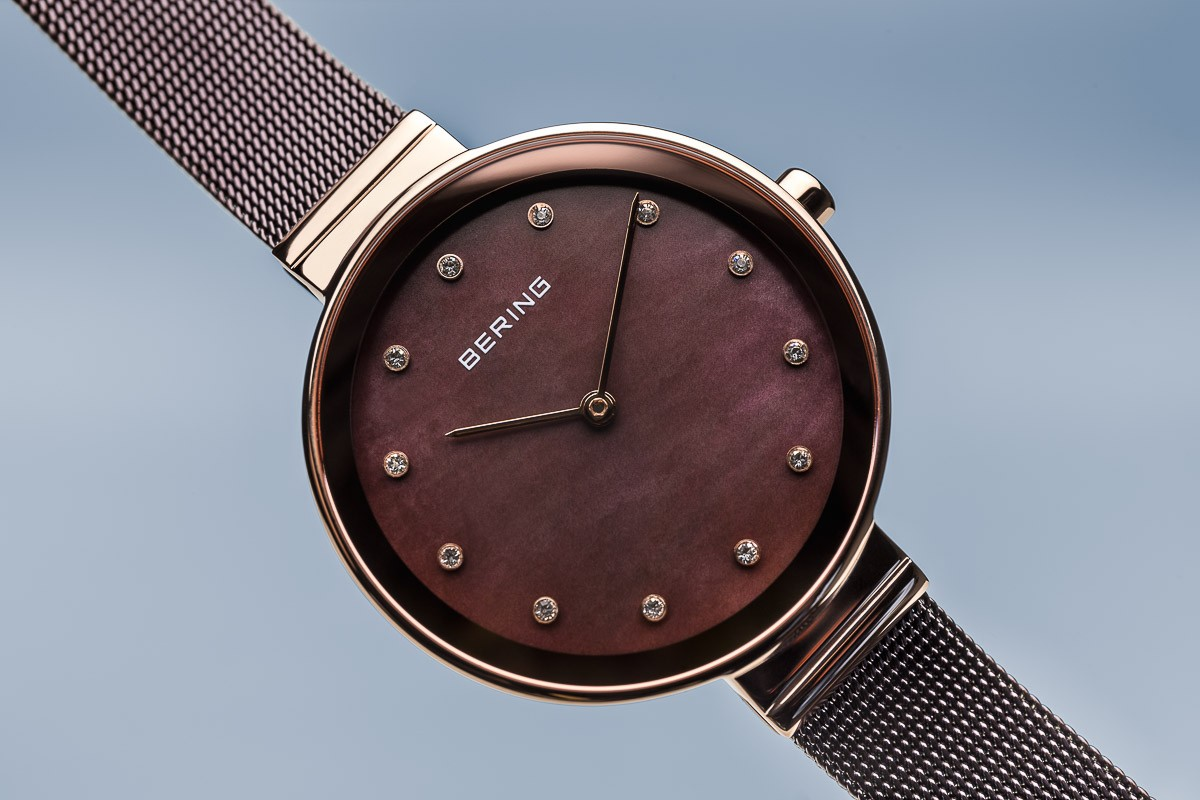 ... Bering Classic barna rozé női óra kristállyal 12034-265 ... f86adb1c0a