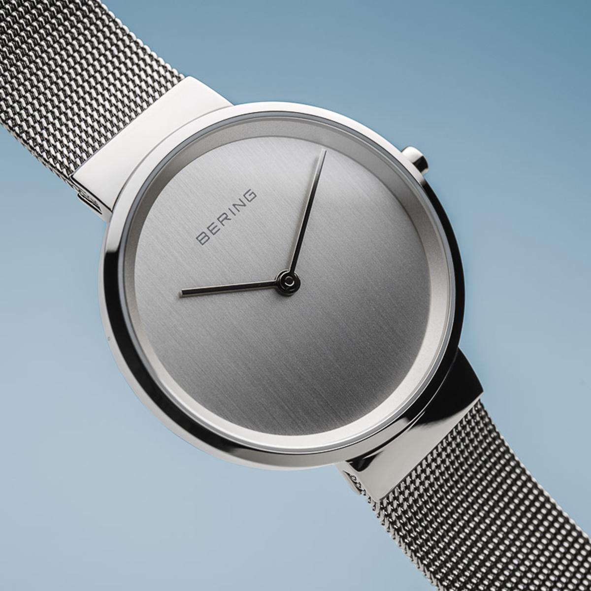361f3a595d ... Bering Classic női óra ezüst szíjjal ezüst számlappal 14531-000 ...