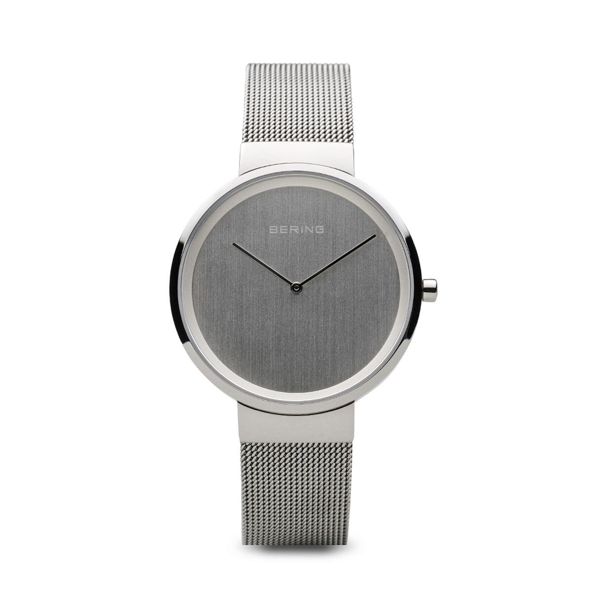Bering Classic női óra ezüst szíjjal ezüst számlappal - 14531-000 98a7ea2844
