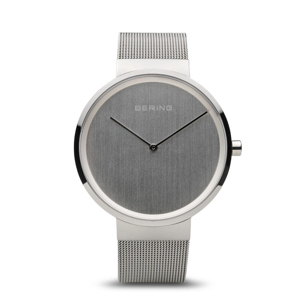 Bering Classic férfi óra fém szíjjal ezüst számlappal - 14539-000 c462aa4837